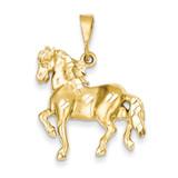 Horse Pendant 14k Gold C557
