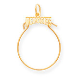 Memories Holder Charm 14k Gold C741