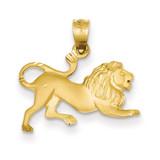 Lion Charm 14k Gold C83