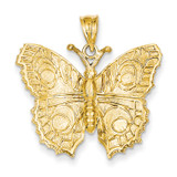 Butterfly Charm 14k Gold C859