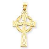Celtic Cross Pendant 14k Gold C894