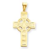 Celtic Cross Pendant 14k Gold C895