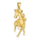 Horse Pendant 14k Gold C98