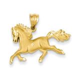 Horse Pendant 14k Gold C99