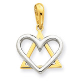 Pendant 14k Two-Tone Gold CG64