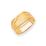 Men's Signet Ring 14k Gold CH165