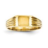 Signet Ring 14k Gold CH192