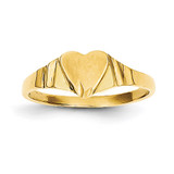 Children's Signet Ring 14k Gold CH195