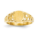 Signet Ring 14k Gold CH220