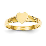 Children's Heart Ring 14k Gold D106