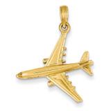 3-D Jet Pendant 14k Gold D1223