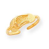 Sandal Toe Ring 14k Gold D1951
