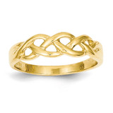 Free Form Knot Ring 14k Gold D3094