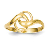 Free Form Ring 14k Gold D3102