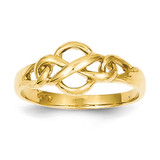 Free Form Knot Ring 14k Gold D3103