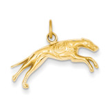 Greyhound Charm 14k Gold D3467