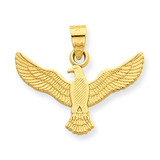 Eagle Pendant 14k Gold D4077