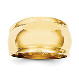 Dome Ring 14k Gold Polished D571