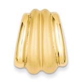 Chain Slide 14k Gold Polished & Satin D576