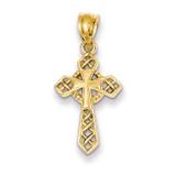 Celtic Cross Pendant 14k Gold D863