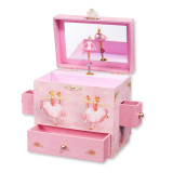 Childrens Ballerina Musical Jewelry Box GL6907