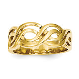 Infinity Ring 14k Gold K1473