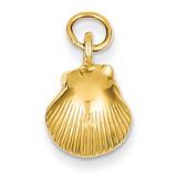 Seashell Pendant 14k Gold K1900