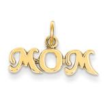 Mom Charm 14k Gold K2630