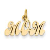 Mom Charm 14k Gold K2632