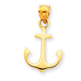 Anchor Pendant 14k Gold K3075