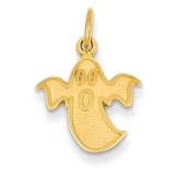 Ghost Charm 14k Gold K3185
