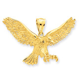 Eagle Pendant 14k Gold K3282