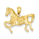 Horse Pendant 14k Gold K3343