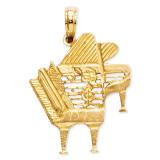 Piano Pendant 14k Gold K3506