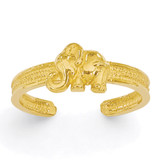 Elephant Toe Ring 14k Gold K3836