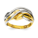 Wave Ring 14k Two-Tone Gold K3859