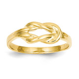 Freeform Knot Ring 14k Gold K4600
