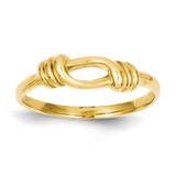 Love Knot Band 14k Gold K4602