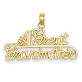 #1 Great Grandmother Charm 14k Gold K4725