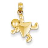 Little Girl Charm 14k Gold K4760