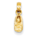 Baby Shoe Charm 14k Gold K4766