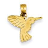 Hummingbird Pendant 14k Gold K4831