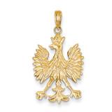 Eagle Charm 14k Gold K4925