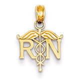 Registered Nurse Pendant 14k Gold K4930