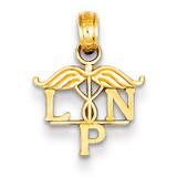 LPN Symbol Pendant 14k Gold K4933