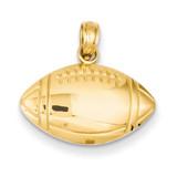 Football Charm 14k Gold K4952