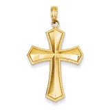 Passion Cross Pendant 14k Gold K5028