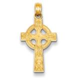 Celtic Cross Pendant 14k Gold K5047