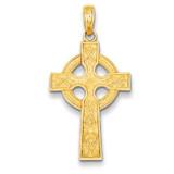 Celtic Cross Pendant 14k Gold K5048