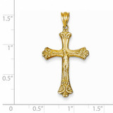 Crucifix Pendant 14k Gold K5076